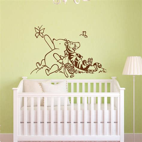 Disney Wall Decals For Nursery Winnie The Pooh Wall Decals Nursery Classic Winnie The Pooh