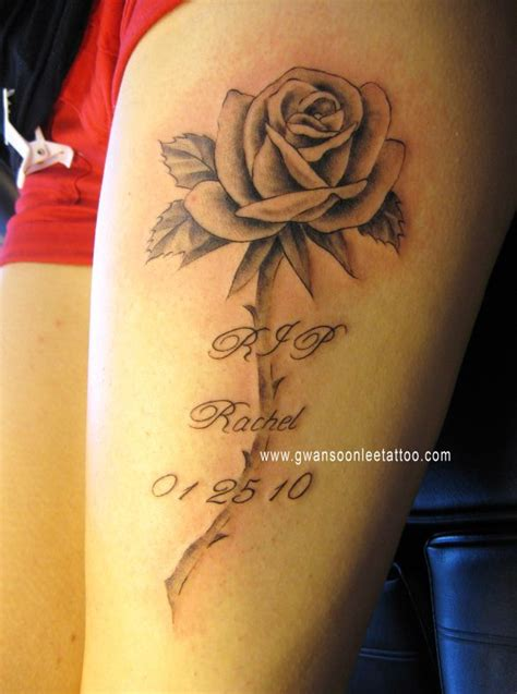 rose rip tattoo designs the gallery for gt rip quotes tattoos