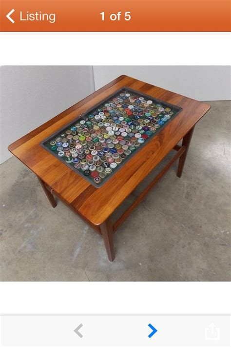 bottle cap coffee table bottle caps coffee tables and cap d agde on
