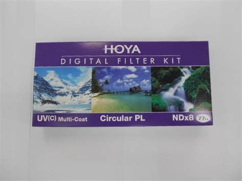 Filter Kit Hoya 52mm Uv Cpl Nd 8 hoya digital filter kit ii 77mm uv cpl nd 8 gudang digital