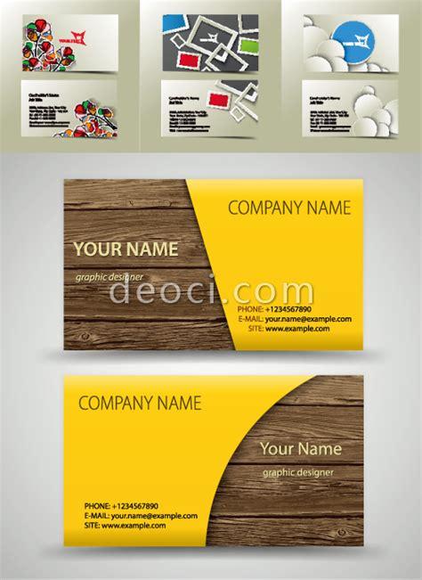 Visiting Card Design Vector Cdr