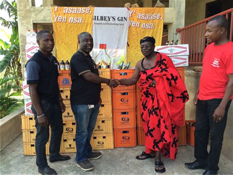 guinness donates to support funeral of late kwahuhene