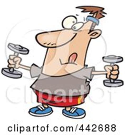 troline clipart exercising