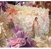 Artificial Flower For Wall Decoration Paper
