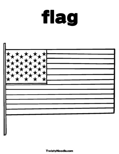 Free Coloring Pages Of Flag Of United States Usa Flag Coloring Page