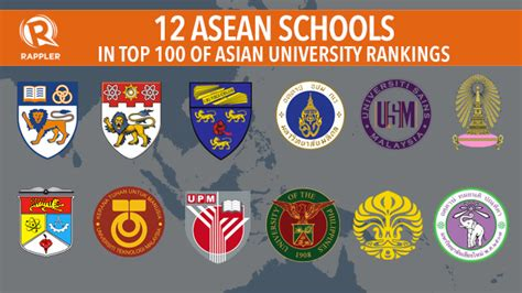 Top Mba Colleges In Southeast Asia by 12 Asean Schools In Top 100 Of Asian Rankings