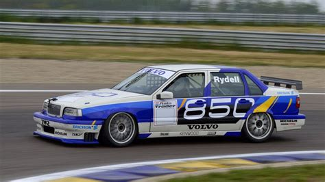 volvo  btcc  rydell track action  board youtube