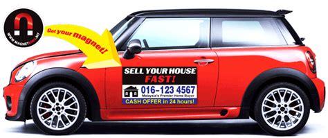 car door magnet malaysia singapore advertising