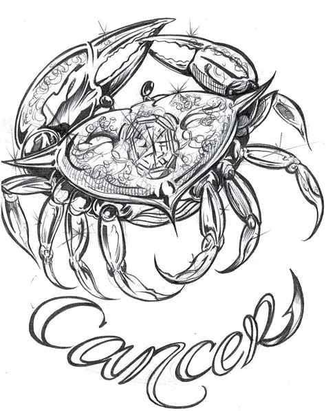 zodiac sign cancer tattoos designs cancer tattoos designs ideas and meaning tattoos for you