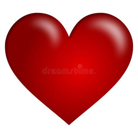 clipart cuore cuore rosso illustrazione di stock illustrazione di
