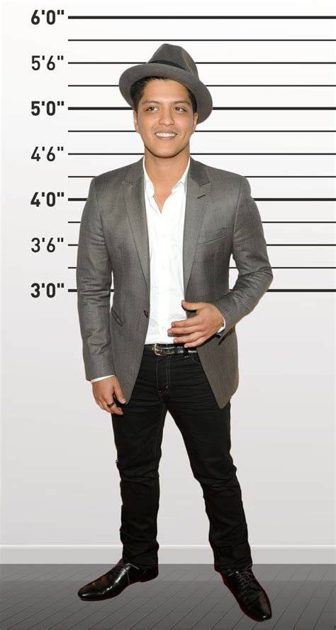 pilipino men celebrity height lenght wiki bruno mars 5 5 quot bruno mars celebrity and celebs