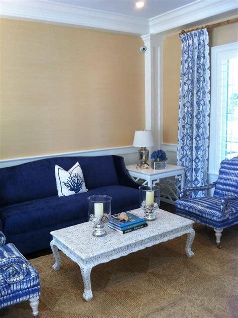 blue sofa living room ideas photos hgtv