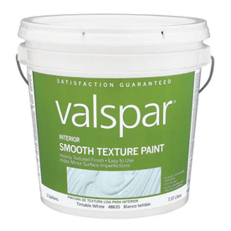 shop valspar 2 gallon size container interior flat smooth texture tintable base paint