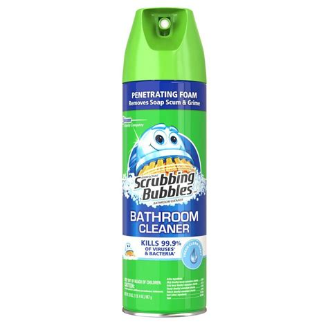 bathroom tub cleaner zep 32 oz shower tub and tile cleaner zustt32pf the