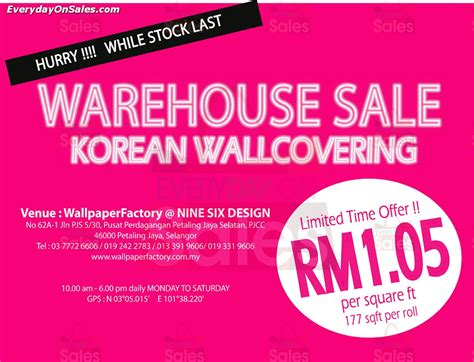 wallpaper dinding murah johor 1 31 mar 2014 korean wallcovering warehouse sale