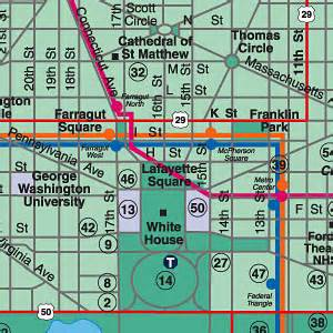 Washington Dc Street Map by Custom Recreation Travel Amp Visitor Maps By Experts