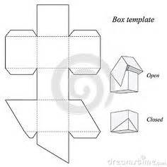 printable box template with lid pyramid box template scatole