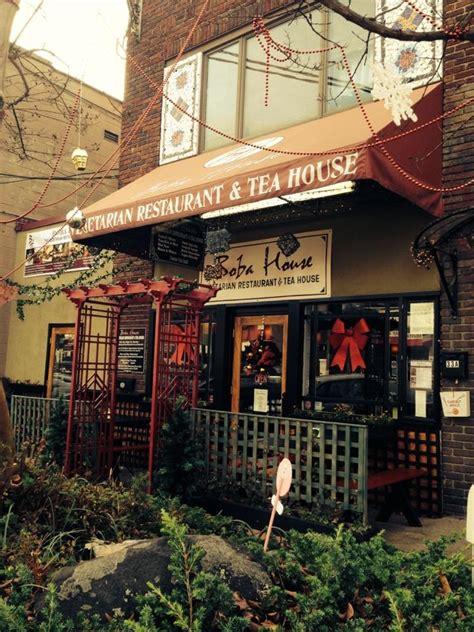 boba house vegetarian restaurant tea house is a vegan find