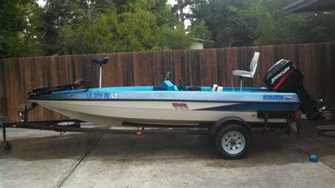 bass boats for sale houston monarch bass boat for sale