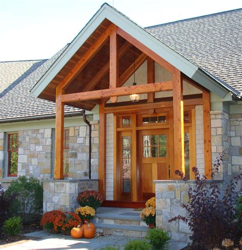 Rustic Timber Frame House Plans by Front Porch Design Idea Rustic Timber Frame Home Plan To