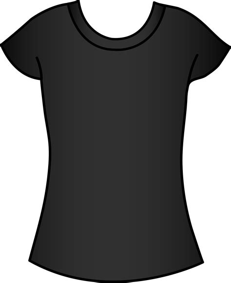 black tee template www imgkid com the image kid has it