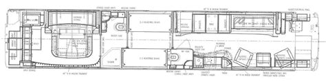 prevost floor plans prevost rv floor plans lawhigoru entertainer coach sales