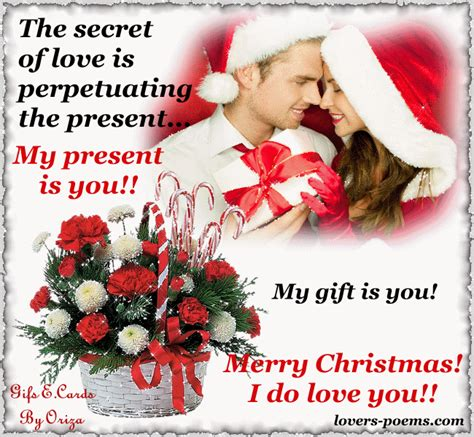 gifs love messages nice messages   romantic christmas