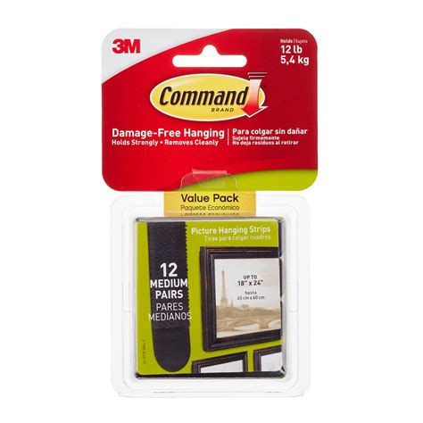 3m command adhesive picture hanging strips the container 3m command adhesive black picture hanging strips the