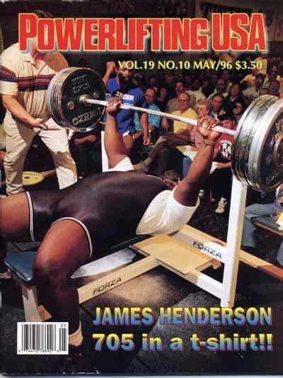 james henderson bench чемпионат мира по жиму без экипировки 1994 года