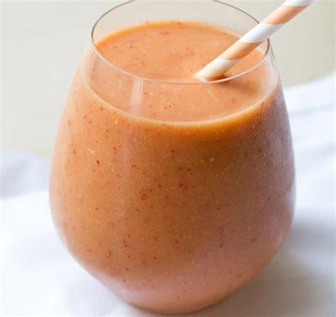 Strawberry Grapefruit Detox Smoothie by Smoothie Sunrises And Detox On