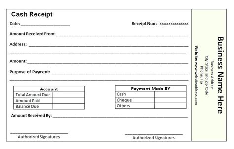 free tuition receipt template school fee receipt format payment receipt templates free