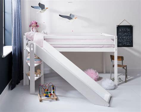 Beds With Slides cabin bed midsleeper johan with slide bed ebay