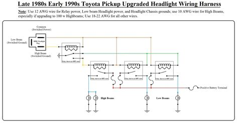 headlight wiring schematic 70 headlight wiring