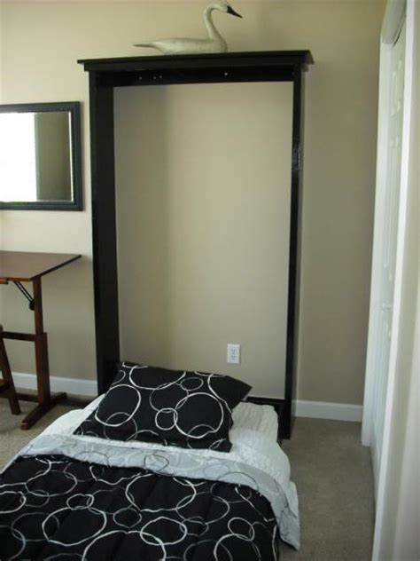 Diy Murphy Bed And White Build A Plans A Murphy Bed You Can Build And