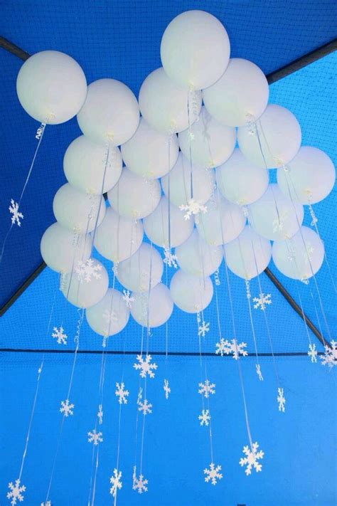 Balloon Falling From Ceiling by Top Class Ideas Of Winter Theme Decorations