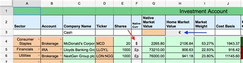 Dividend Tracker Spreadsheet by International Dividend Portfolio Tracker With Transactions