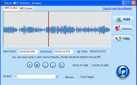 download mp3 cutter and joiner for blackberry free mp3 cutter joiner download