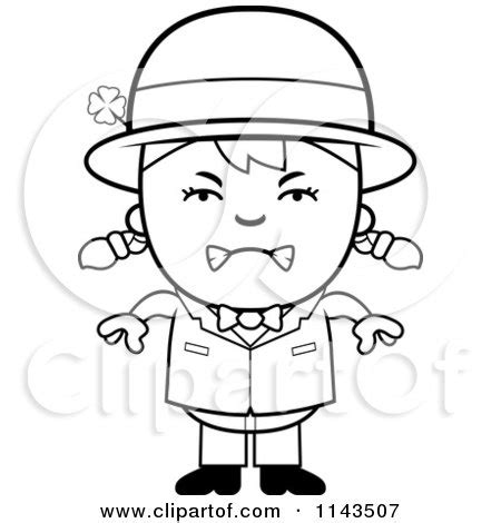 baby leprechaun coloring page girl leprechaun coloring pages