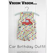 Birthday Boy Toddler Car Party Outfit  The Cottage Mama