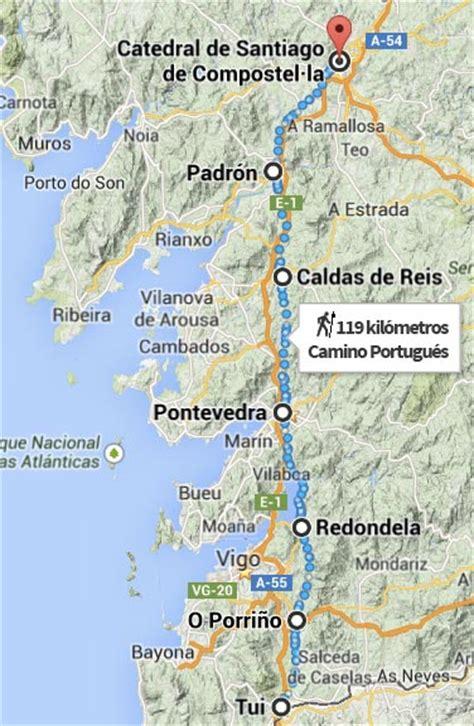 camino de santiago portugal gu 237 a camino portugu 233 s de tui a santiago de compostela