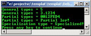 the basic of the c templates programming tutorial with