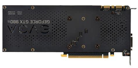 EVGA Geforce GTX 980 Ti Superclocked ACX 2.0+ Backplate ... Gtx 980 Ti Superclocked