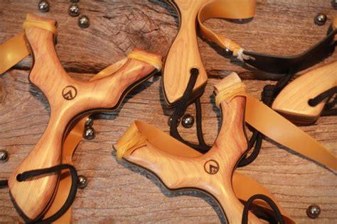 Handmade Slingshots For Sale - handcrafted modern slingshots wooden slingshot