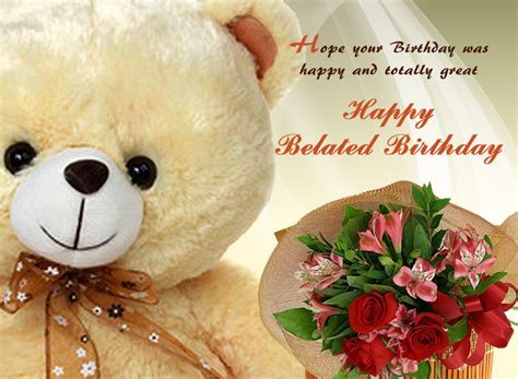 Happy Belated Birthday Messages and Wishes   WishesMsg