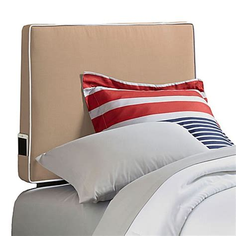 headboard pillow perfect fit 174 instant headboard pillow bed bath beyond