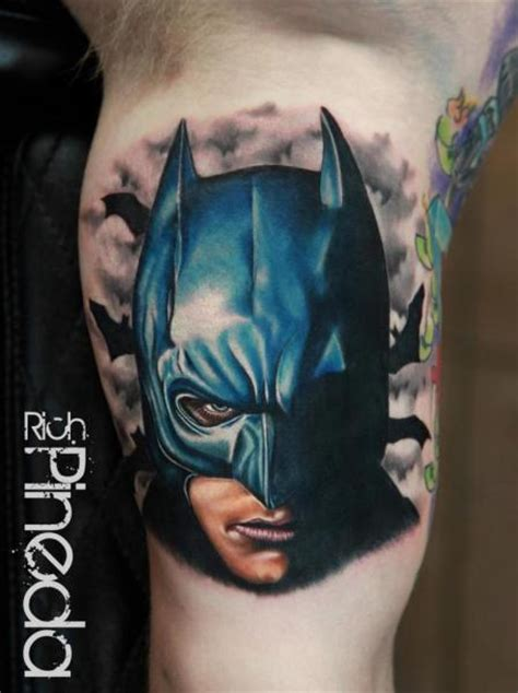 batman head tattoo the gallery for gt tribal foot tattoo designs for women