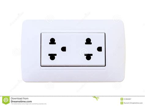 Home Design Outlet Center thailand electrical outlet isolated royalty free stock