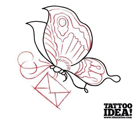tattoo flash tutorial disegna la tua farfalla ideatattoo