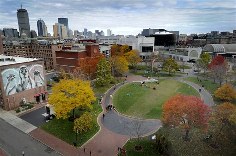 Fall Mba Internship Boston by Cus In Autumn News Northeastern