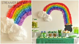 Decorating Ideas With Crepe Paper Streamers Rainbow Craft Amp Dessert Ideas Lolly Jane
